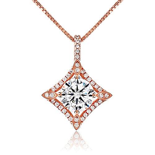 [Amazon] J.Rosée 45cm Halskette mit 925 Sterlingsilber