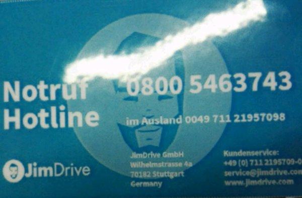 Schutzbrief/ Pannenhilfe