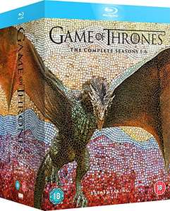 Game of Thrones 1-6 auf Amazon UK für 93€ statt 149,99€!