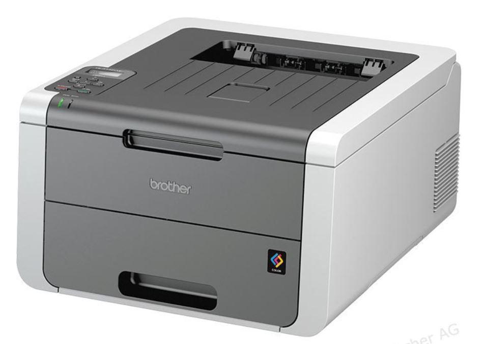 Brother HL 3142CW Farblaserdrucker - WLAN - 3 Jahre Vor-Ort-Herstellergarantie