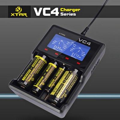 XTAR VC4 Universalladegerät (Li-Ion & NiMH, 4 unabhängige Ladeschächte) für 16,98€ [Gearbest]