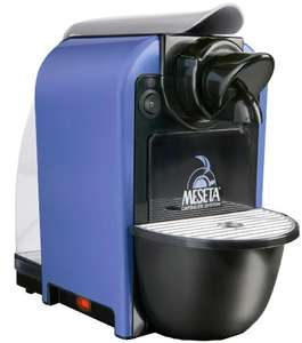 Meseta Attimo Kapsel-Espressomaschine Espressomaschine / Kapselsystem / dark blue amazon
