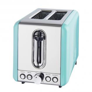 Schaub Lorenz SL T2.1 (Retro Toaster, grün) für 29€