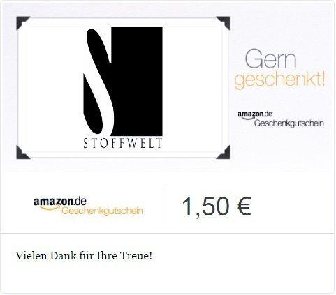 [eBay] Amazon Gutschein i.W.v. 1,50€ für 1€