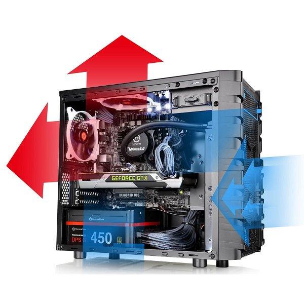 (Digitalo) Thermaltake Versa H13 PC-Gehäuse mit Fenster für 35,17 €