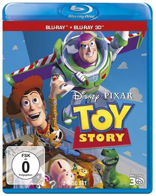 Disney 3D-Blu-ray Sale (z.B. Toy Story 1-3 3D je 9,99€) @ CeDe.de