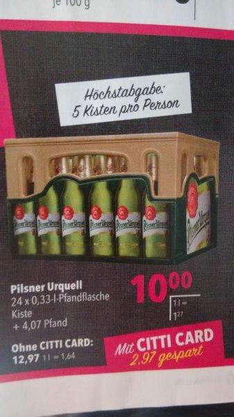 Lokal Citti: Pilsner Urquell 24*0,33l