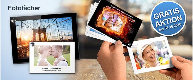PrintPlanet Gratis Fotofächer Aktion - Kostenlos mit eigenen Fotos und ohne Software selbst gestalten