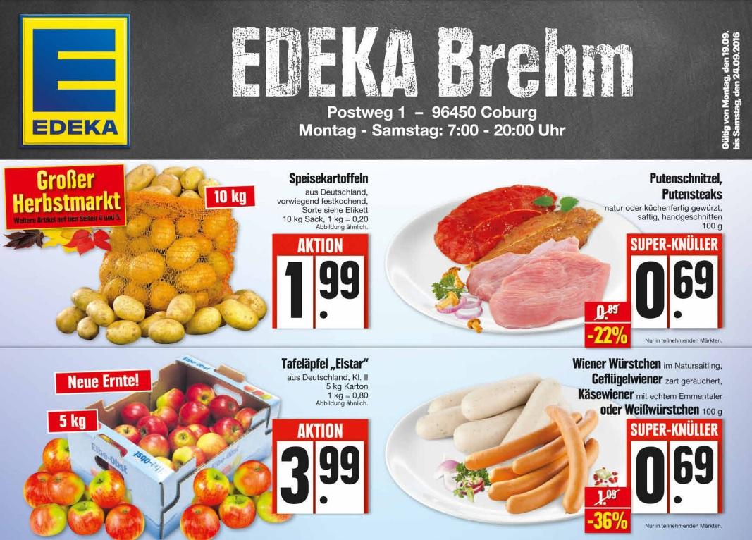 [lokal Coburg] Ein 10kg Sack Kartoffel  für 1,99€