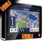 "FALK F6 3rd Edition  4,3 "" Navigationsgerät Europa & TMC"