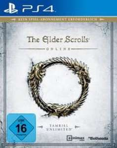 The Elder Scrolls Online: Tamriel Unlimited - Steelbook Edition (PS4) für 9,99€ [Saturn Abholung]