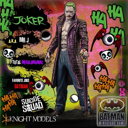 Wayland Games - Batman: Suicide Squad - Game Box