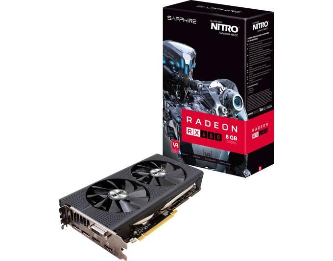 SAPPHIRE Radeon RX 480 NITRO+ OC , Grafikkarte
