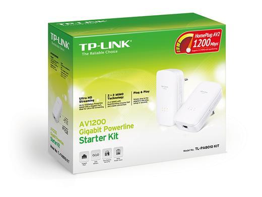 TP-LINK AV1200 TL-PA8010 Powerline Starter Kit