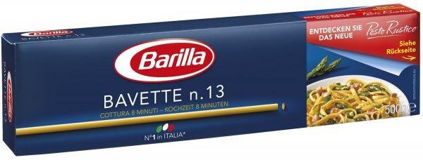 Barilla Bavette n. 13, 8er Pack (8 x 500 g) für 4,71€ (Amazon)
