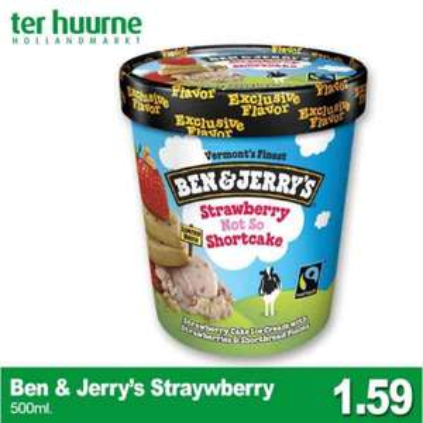 [Lokal Te Huurne] Ben & Jerryx27s Strawberry - Not so shortcake