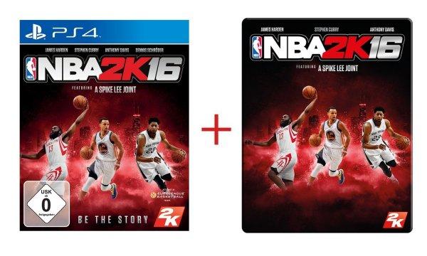 (Amazon Prime) NBA 2K16: Metalcase Edition (PS4) für 12,01€