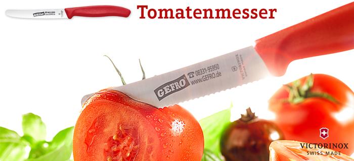 Victorinox: 3x Tomatenmesser und 1x Steakmesser für 10,71 € (pro Messer 2,67 €) + 125g Kräuterwürze [Gefro]