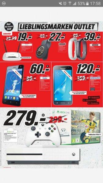 XBOX ONE S + FIFA 17 bei MediaMarkt im neuen KaufDaProspekt (Frankfurt/Main) für 279€