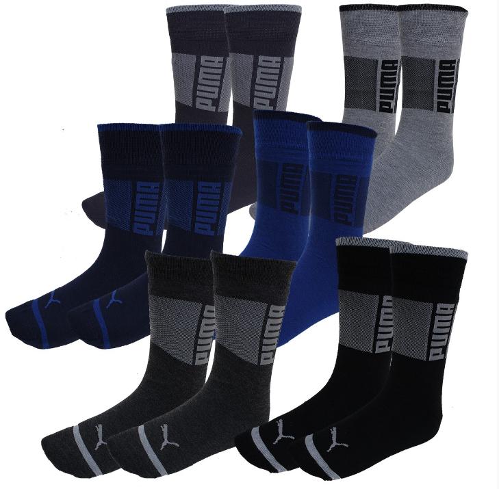 Deal für Unentschlossene: 12er Pack Quarter- und Classic-Socken von Puma im Mix jetzt für 19,95€ statt 28,95€ *UPDATE*