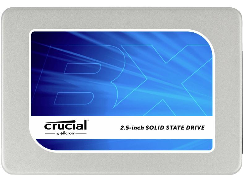 """Crucial BX200 480 GB SSD SATA III 2,5"""" Festplatte für 99,-€ Versandkostenfrei [Mediamarkt Outlet/Amazon]"""
