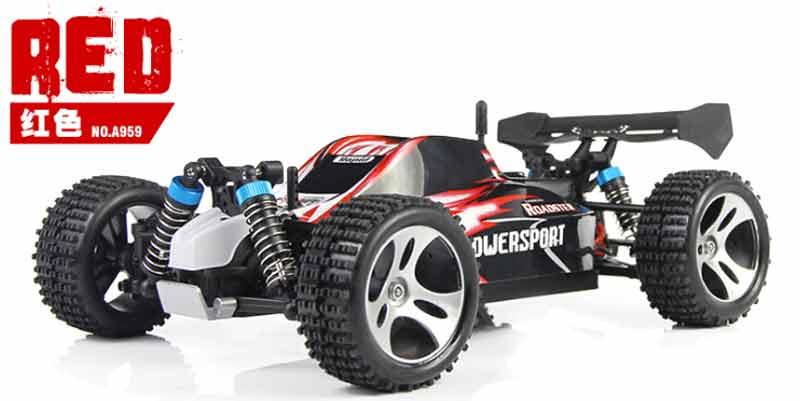 "Ferngesteuertes Auto Off-Road Buggy ""Wltoys A959 1/18 RC"" 29,4% günstiger als Vergleichspreis [rcmoment.com]"