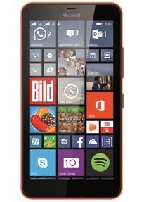 (rebuy) Microsoft Lumia 640 XL Dual SIM 8GB orange im Zustand wie neu
