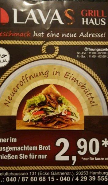 DÖNER FÜR 2,90€