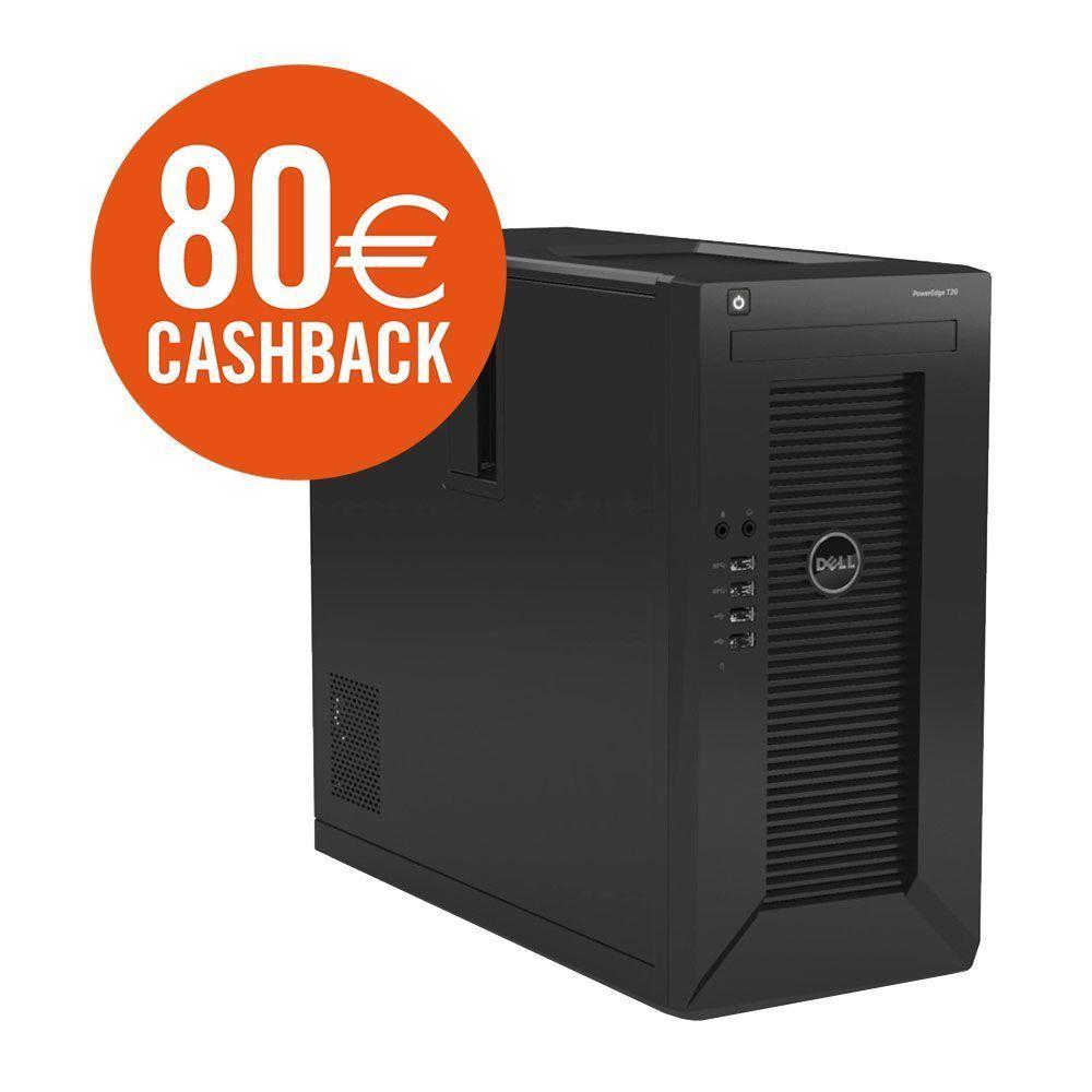 Dell PowerEdge T20 - Intel Xeon E3-1225 v3, 4GB RAM, 1TB HDD - 299,90€ @ Cyberport [- 80€ Cashback]