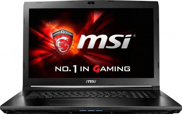 """(eBay) MSI GL72-6QFi781FD: 17.3"""" FHD (matt), Intel Core i7-6700HQ 4x 2,60GHz, 8GB RAM, 1TB HDD, GeForce GTX 960M, Wlan ac, Gbit Lan, USB 3.0-C, HDMI für 799€"""