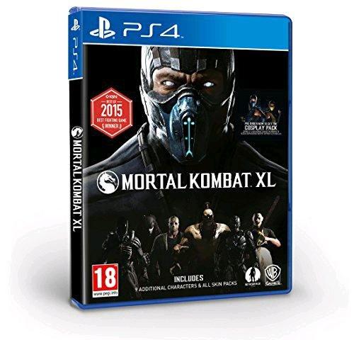 FINISH HIM! Mortal Kombat XL UK PEGI Version - ALLES auf CD und komplett auf deutsch spielbar (Amazon)