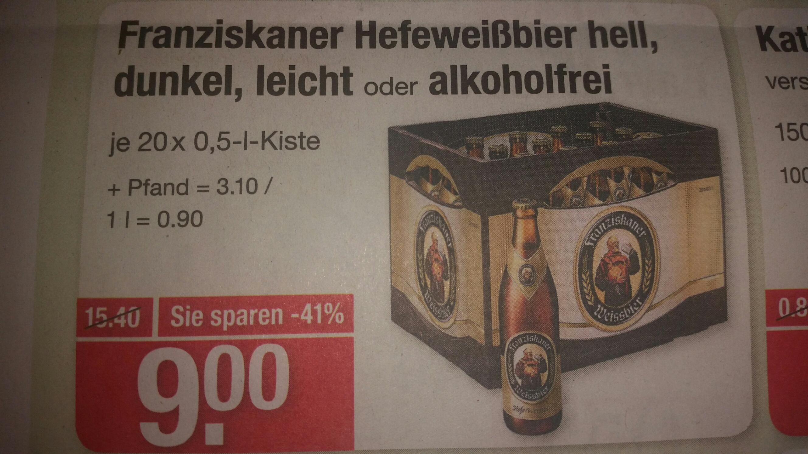 [V-Markt] Franziskaner Weißbier