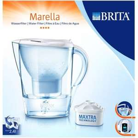 "Brita - Wasserfilter 1,4L ""Marella Cool"" (Weiß,Blau) ab €11,85 [@GetGoods.de]"