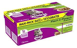 [Amazon] Whiskas Beutel 16,7 Cent der Beutel