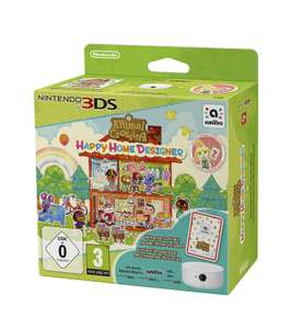 Nintendo 2DS/3DS - Animal Crossing: Happy Home Designer (Limited Editon inkl. NFC-Lese-/Schreibgerät) ab €21,58 [@Redcoon.de]