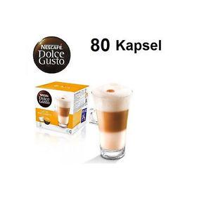 [eBay] 5er Pack LATTE MACCHIATO Nescafé Dolce Gusto 80 Kapseln
