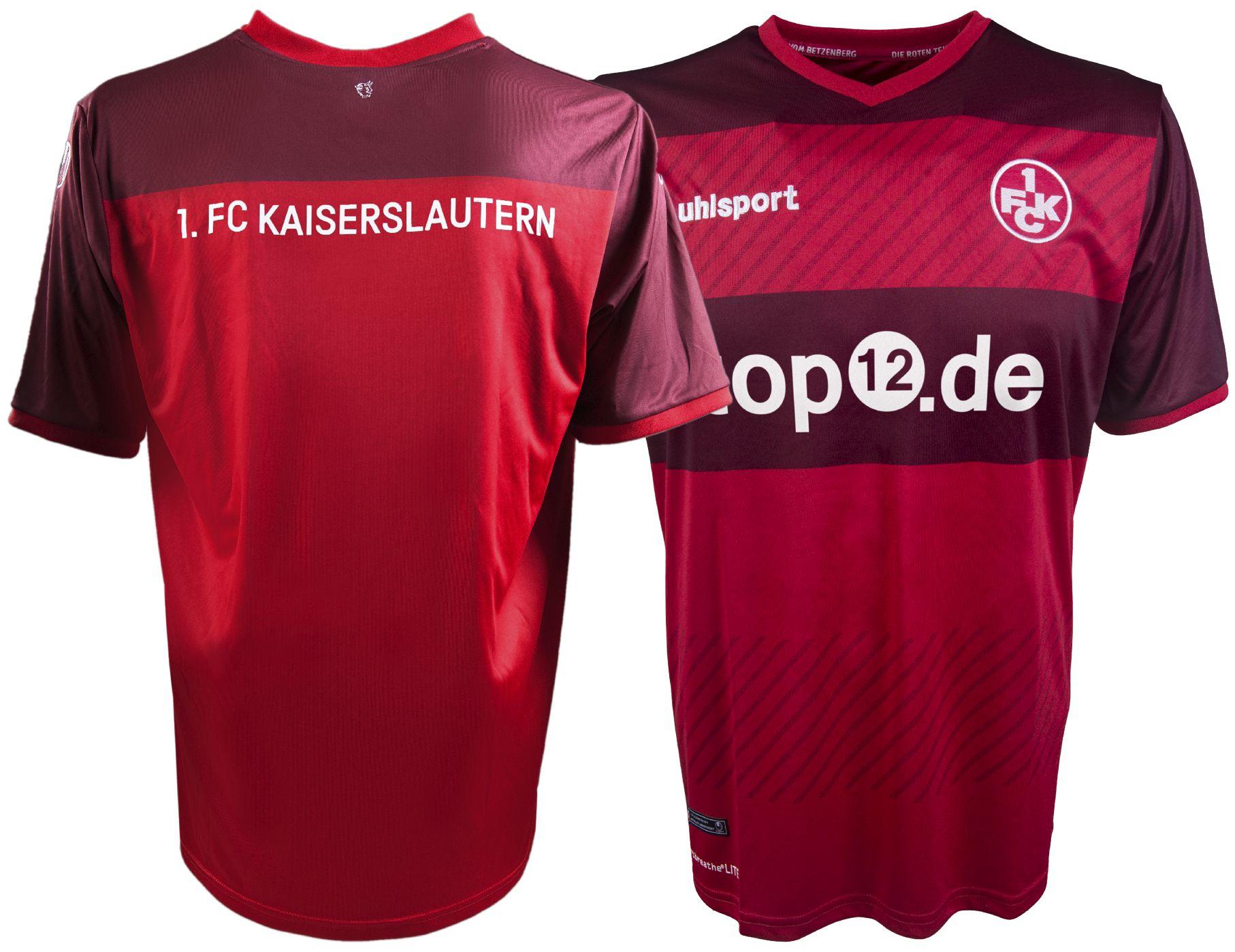 [Top12.de] 1.FC Kaiserslautern Trikots für 17,58€ (Saison 15/16) oder 16/17 für 43,48€
