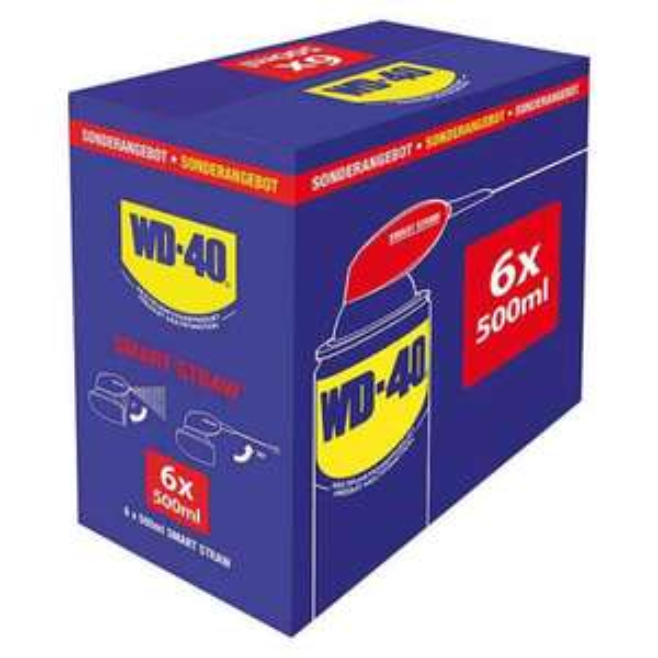 WD-40 6x 500ml für 35€ bei Bauhaus
