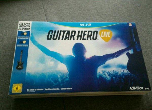[Lokal Ulm] Media Markt Guitar Hero Live für Wii U für 15 Euro