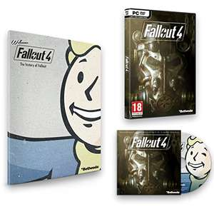 Fallout 4 + Franchise Buch + Soundtrack für 15,84€ (PC/Steam)