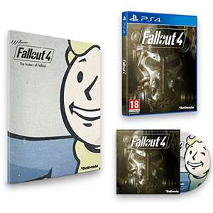 [amazon.co.uk] Fallout 4 - inkl. Franchise Book und Soundtrack (Xbox One / PS4) für ~21,13 EUR