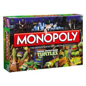 Hasbro, Monopoly Teenage Mutant Ninja Turtles [Real]