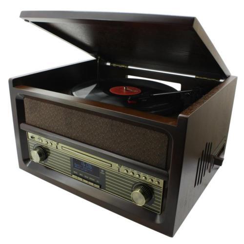 [eBay - Redcoon] Soundmaster NR515, HiFi-Kompaktanlage mit Plattenspieler, Kassettendeck, CD-Player, AUX, USB-Anschluss, UKW- & DAB+-Radio + Encoding-Funktion [Idealo: 204€]