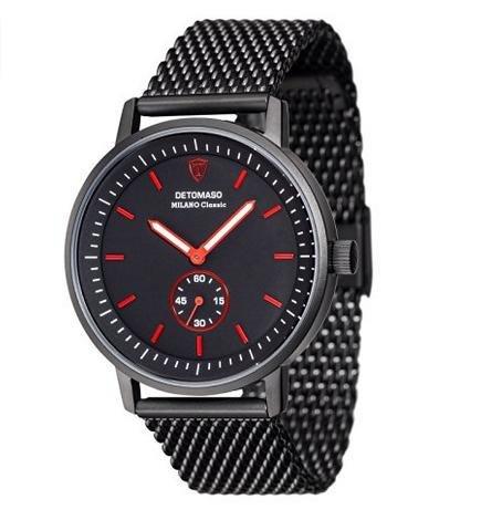 (Amazon) Detomaso Herren-Armbanduhr Milano Classic DT1072-H für 59€