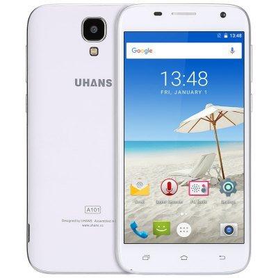 Smartphone UHANS A101, 5 Zoll, DUAL-Sim, alle LTE Bänder, inkl Versand nur 54 €