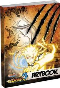 Naruto Shippuden: Ultimate Ninja Storm 3 - Artbook [amazon prime]