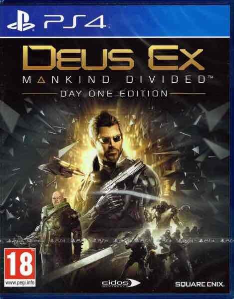 PS4 Deus Ex: Mankind Divided D1 Edition (AT-PEGI)