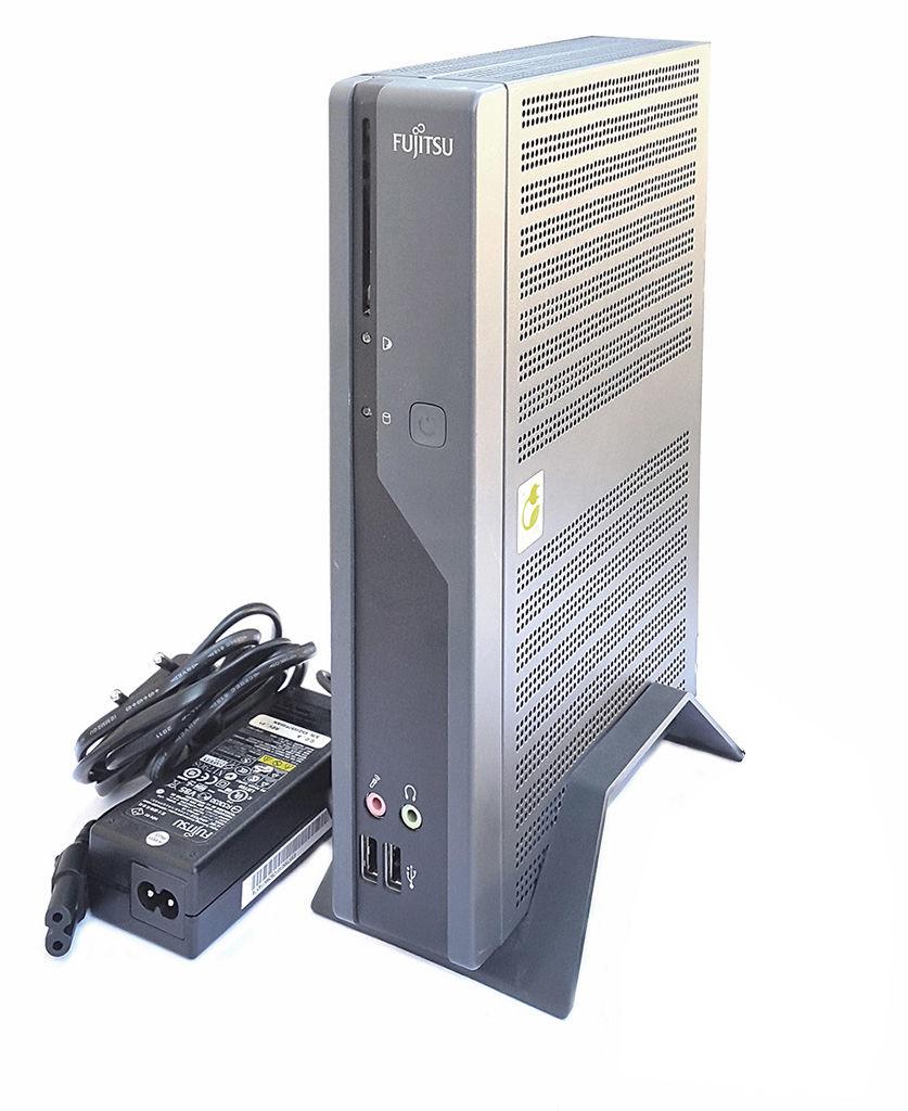 Kompletter Mini PC: Fujitsu Futro S550 ThinClient TCS-D2703 AMD 1GHZ 1GB RAM 1GB CF-Karte + Zubehör