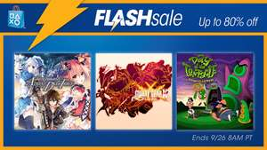 [PSN USA] Flash Sale Animation Deals Up to 80%