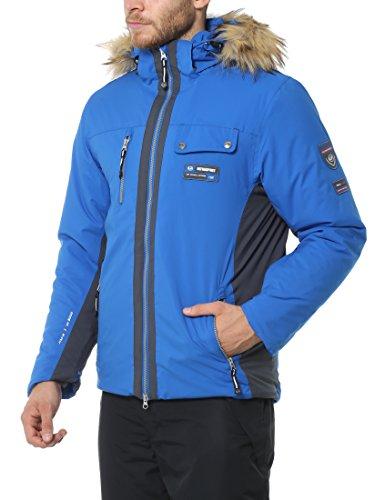 Amazon coole Ultrasport Herren Ski- /winterjacke Snowfox, Blau, M anstatt 89€